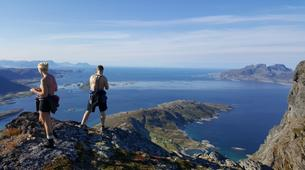 Hiking / Trekking-Bodø-Guided summit hike to Mt. Litltind in Bodø-5