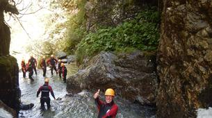 Canyoning-Imst-Beginner's canyoning at Alpine Roses Gorge in the Tirol-6
