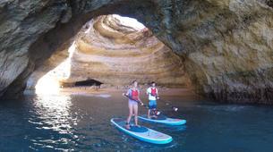 Stand up Paddle-Armação de Pêra-SUP excursion to the Benagil Caves-4
