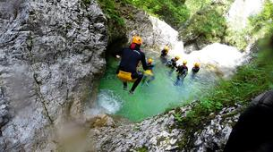 Canyoning-Bled-Grmečica Waterfall Canyon, near Bled-2
