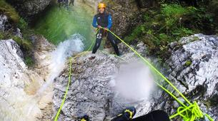 Canyoning-Bled-Grmečica Waterfall Canyon, near Bled-4