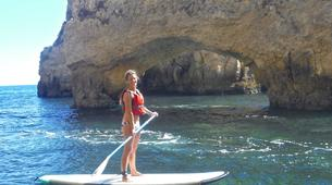 Stand Up Paddle-Lagos-Stand up paddle rentals on Batata beach, Algarve-3