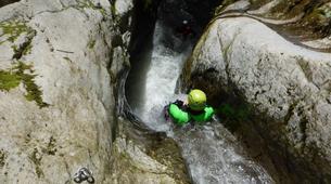 Canyoning-Castelnuovo di Garfagnana-Rio Selvano canyon in Tuscany-3