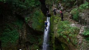 Canyoning-Bled-Canyoning to Lake Bled in Bohinj Valley-5