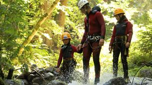 Canyoning-Imst-Family canyoning at Piburger Gorge in the Tirol-4
