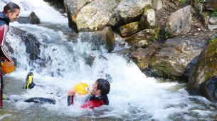 Canyoning-Imst-Beginner's canyoning at Alpine Roses Gorge in the Tirol-4