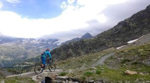 Mountain bike-Chamonix Mont-Blanc-Mountain bike excursion in the Chamonix Valley-1