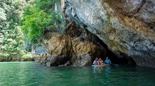 Sea Kayaking-Phuket-Sea canoeing to Phang Nga Bay-3
