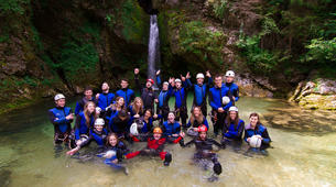 Canyoning-Bled-Canyoning to Lake Bled in Bohinj Valley-6