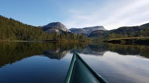 Kayaking-Bodø-Canoeing excursion down the Futelva River near Bodø-1