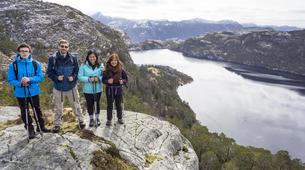 Randonnée / Trekking-Stavanger-Nature hike to Preikestolen (Pulpit Rock) in Ryfylke-1