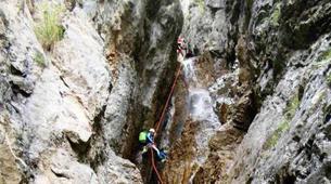Canyoning-Imst-Xtreme canyoning at Dollinger Gorge in the Tirol-10