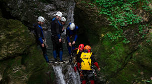 Canyoning-Bled-Canyoning to Lake Bled in Bohinj Valley-3