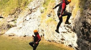 Canyoning-Imst-Adventure canyoning at Plansee Gorge in the Tirol-5