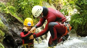 Canyoning-Imst-Family canyoning at Piburger Gorge in the Tirol-1