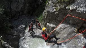 Canyoning-Imst-Beginner's canyoning at Hachle Gorge in the Tirol-4