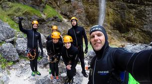 Canyoning-Bled-Grmečica Waterfall Canyon, near Bled-3