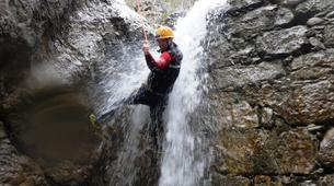 Canyoning-Imst-Beginner's canyoning at Hachle Gorge in the Tirol-3