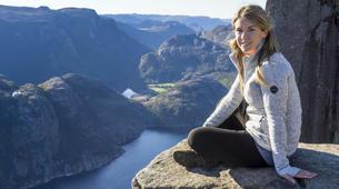 Randonnée / Trekking-Stavanger-Nature hike to Preikestolen (Pulpit Rock) in Ryfylke-4