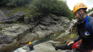 Canyoning-Gorges du Tarn-Sources du Tarn canyon from Saint-Enimie, Lozere-4