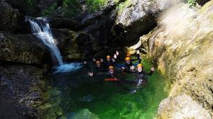 Canyoning-Bled-Grmečica Waterfall Canyon, near Bled-5