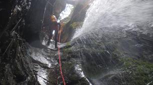 Canyoning-Imst-Xtreme canyoning at Kronburg Gorge in the Tirol-2