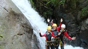Canyoning-Imst-Family canyoning at Piburger Gorge in the Tirol-2