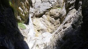 Canyoning-Imst-Xtreme canyoning at Upper Rose Garden Gorge in the Tirol-2