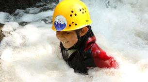 Canyoning-Imst-Family canyoning at Piburger Gorge in the Tirol-3