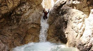 Canyoning-Imst-Beginner's canyoning at Hachle Gorge in the Tirol-1