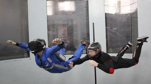 Soufflerie-Bedford-Indoor skydiving in Bedford-1