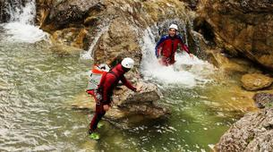 Canyoning-Imst-Adventure canyoning at Plansee Gorge in the Tirol-9