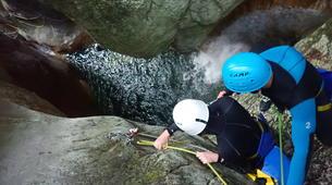 Canyoning-Annecy-Canyon du Pont du Diable, Bellecombes-en-Bauges-10