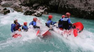 Rafting-Bovec-Rafting on the Soča River near Bovec-1