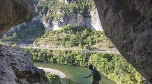 Via Ferrata-Gorges du Tarn-Via ferrata of La Canourgue, Sainte-Enimie, Lozère-2