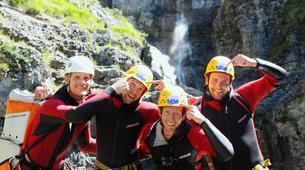 Canyoning-Imst-Adventure canyoning at Plansee Gorge in the Tirol-14