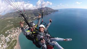 Paragliding-Budva-Tandem paragliding flight near Budva, Montenegro-10