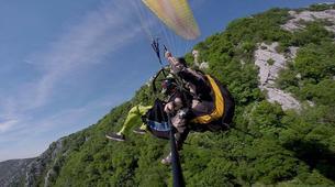 Parapente-Makarska-Tandem paragliding on the Dalmatian Coast near Makarska-2