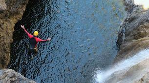 Canyoning-Imst-Adventure canyoning at Plansee Gorge in the Tirol-7