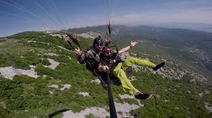 Parapente-Makarska-Tandem paragliding on the Dalmatian Coast near Makarska-1
