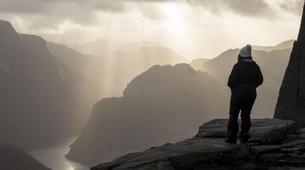 Randonnée / Trekking-Stavanger-Nature hike to Preikestolen (Pulpit Rock) in Ryfylke-9