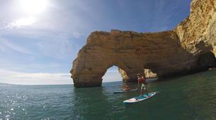 Stand up Paddle-Armação de Pêra-SUP excursion to the Benagil Caves-1