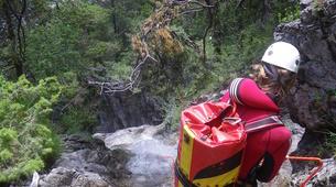 Canyoning-Imst-Xtreme canyoning at Dollinger Gorge in the Tirol-2