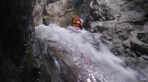 Canyoning-Imst-Xtreme canyoning at Kronburg Gorge in the Tirol-1