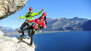 Via Ferrata-Lake Garda-Via Ferrata Balconi sul Garda above Lake Garda-2