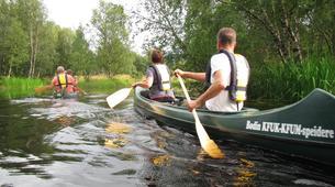 Kayaking-Bodø-Canoeing excursion down the Futelva River near Bodø-5