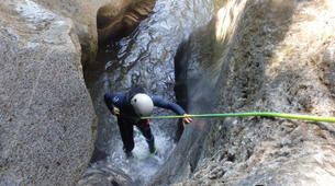 Canyoning-Spanish Catalan Pyrenees-Berros Canyon in the Spanish Pyrenees, near Sort-1