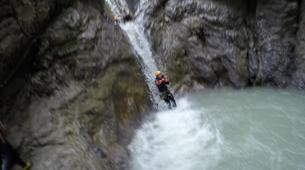 Canyoning-Imst-Beginner's canyoning at Hachle Gorge in the Tirol-2