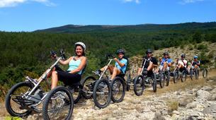 VTT-Mont Ventoux-Randonnées Quadbike au Mont Ventoux depuis Bédoin-1