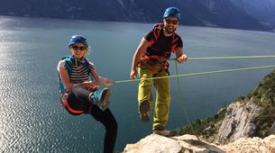 Via Ferrata-Lake Garda-Via Ferrata Balconi sul Garda above Lake Garda-5
